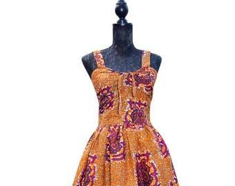 50's inspired dress