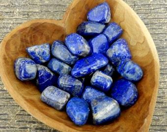 Tumbled Lapis Lazuli By 1 or 5 pcs - (TS-27)