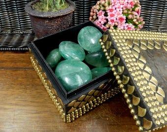 Green Quartz Tumbled Stone - Polished Beauties! - (TS-82)
