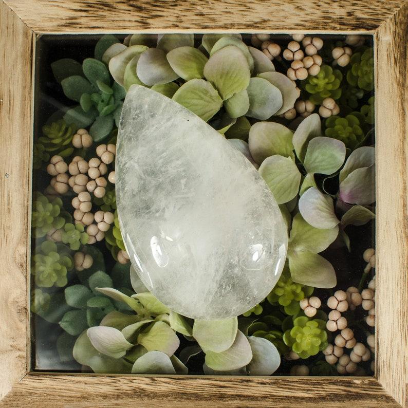 Teardrop Crystal Quartz RK111 Home Decor