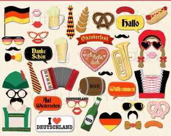 germany theme party photo booth prop deutschland theme party photo booth prop octoberfest party printable