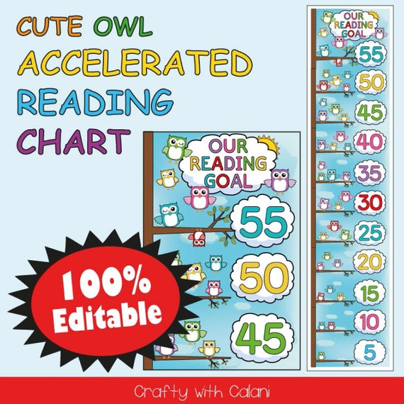 Reading Chart Template from i.etsystatic.com