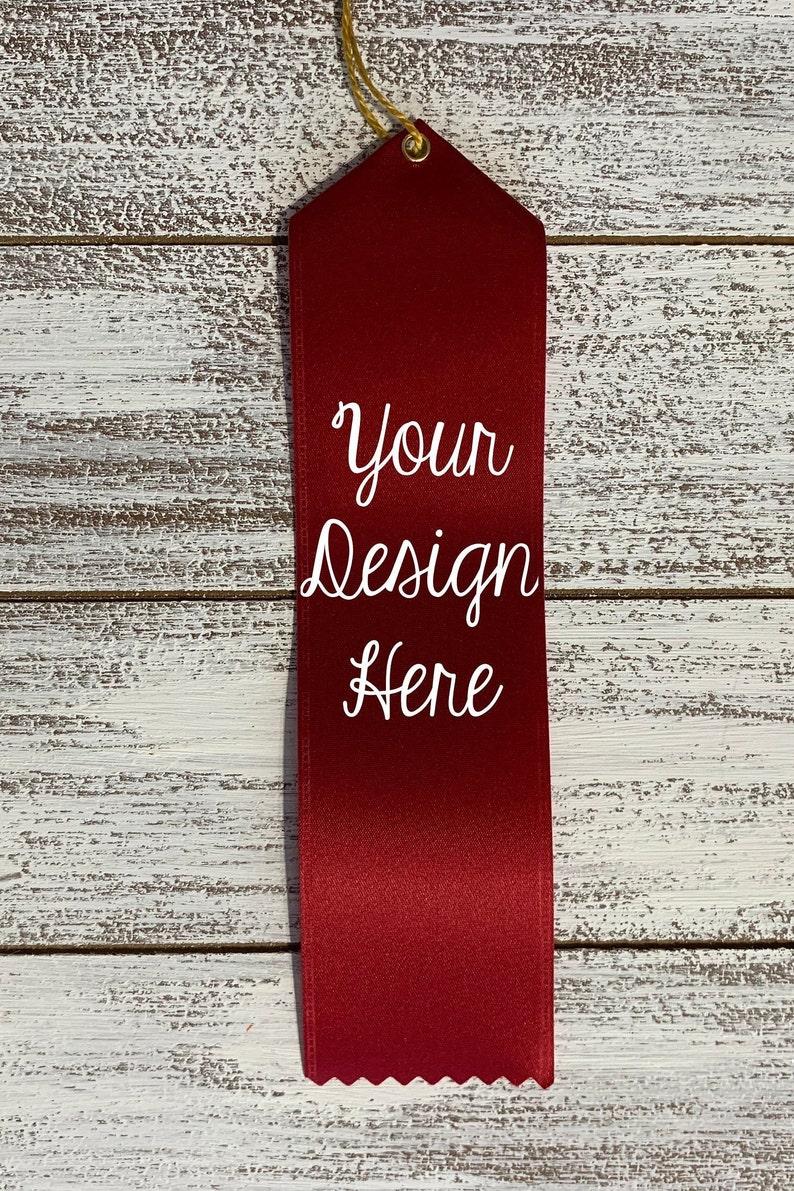 Funny Award Ribbons Personalized Awards Custom Superlative Ribbons Custom Award Ribbons