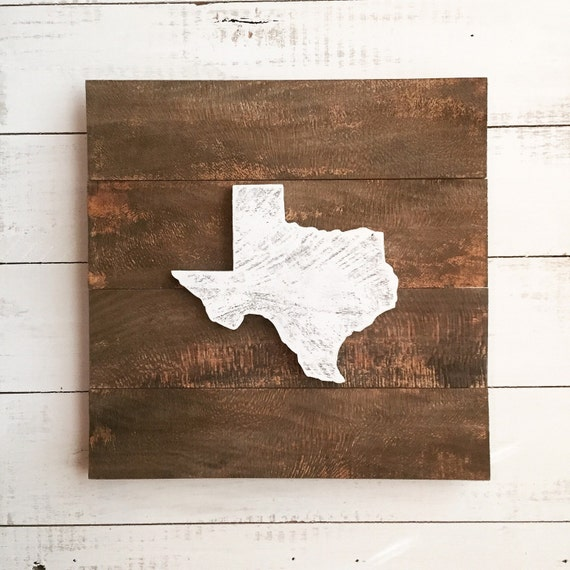 State Love Rustic Wood Sign - Choose your state!
