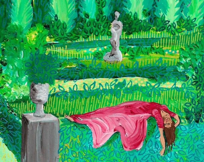 Over It Mood Painting by Willabird Designs Artist Amber Petersen