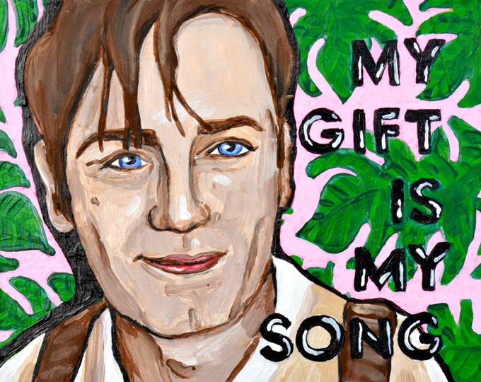 Moulin Rouge Painting by Willabird Designs Artist Amber Petersen. My gift is my song, and this one's for you