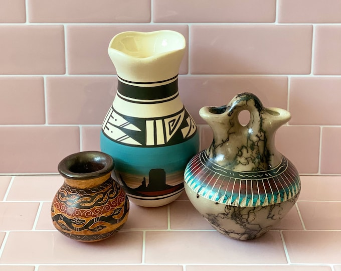 Vintage Desert Vibes Vases found by Willabird Designs Vintage Finds