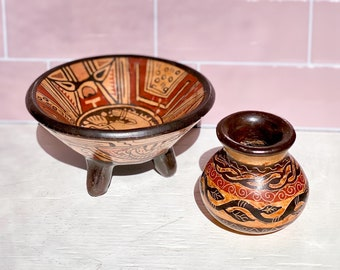 Costa Rican Pottery found by Willabird Designs Vintage Finds