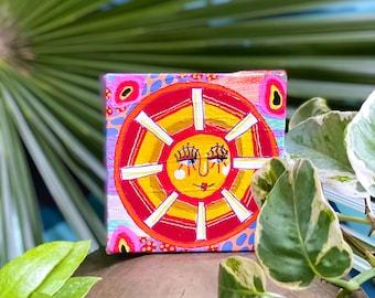 Jungalow Sun Paintings by Willabird Designs Artist Amber Petersen