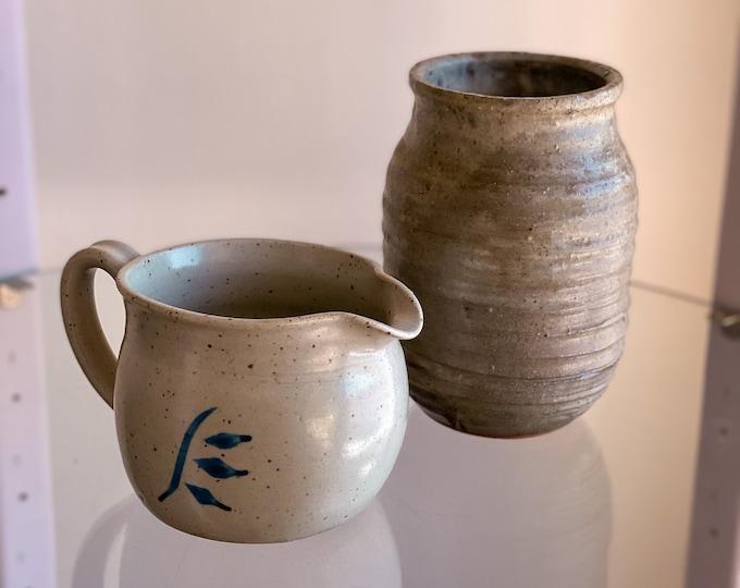 Handmade Ceramic Planters found by Willabird Designs Vintage Finds