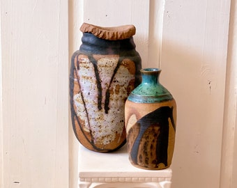 Earthy Pottery found by Willabird Designs Vintage Finds