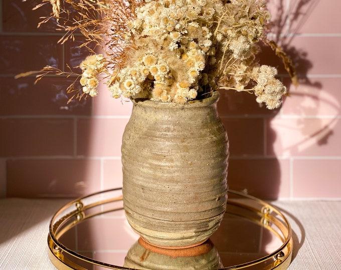 Handmade Ceramic Vase found by Willabird Designs Vintage Finds
