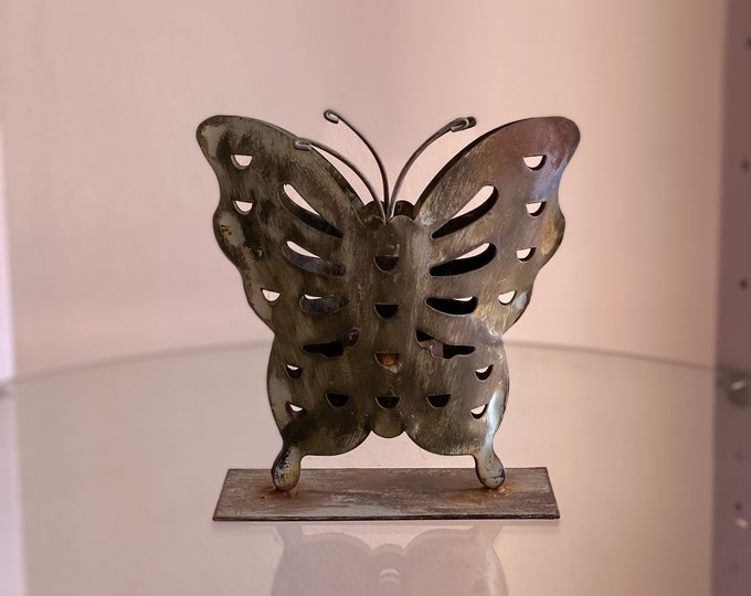 Butterfly Candle Holder found by Willabird Designs Vintage Finds