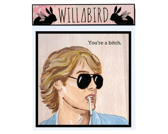 Pretty in Pink Magnet by Artist Amber Petersen. James Spader as Steff McKee