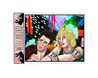 Derek & Hansel Magnet by Artist Amber Petersen. Ben Stiller and Owen Wilson in Zoolander