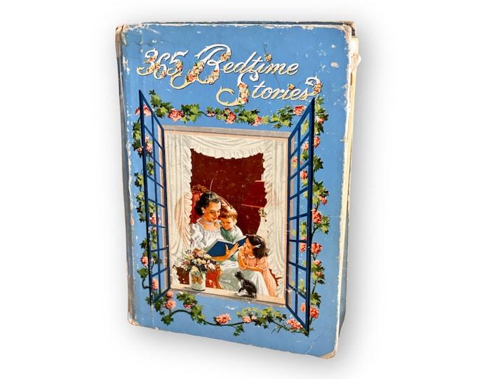 1944 Bedtime Stories book found by Willabird Designs Vintage Finds
