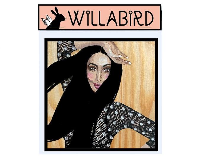 Cher Magnet by Willabird Designs Artist Amber Petersen