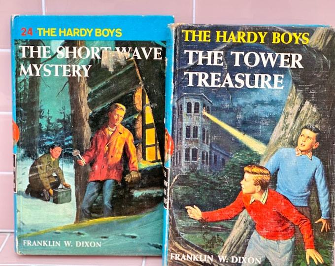 Vintage Hardy Boys Books found by Willabird Designs Vintage Finds