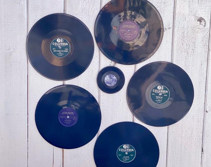 Vintage Decorative Records found by Willabird Designs Vintage Finds