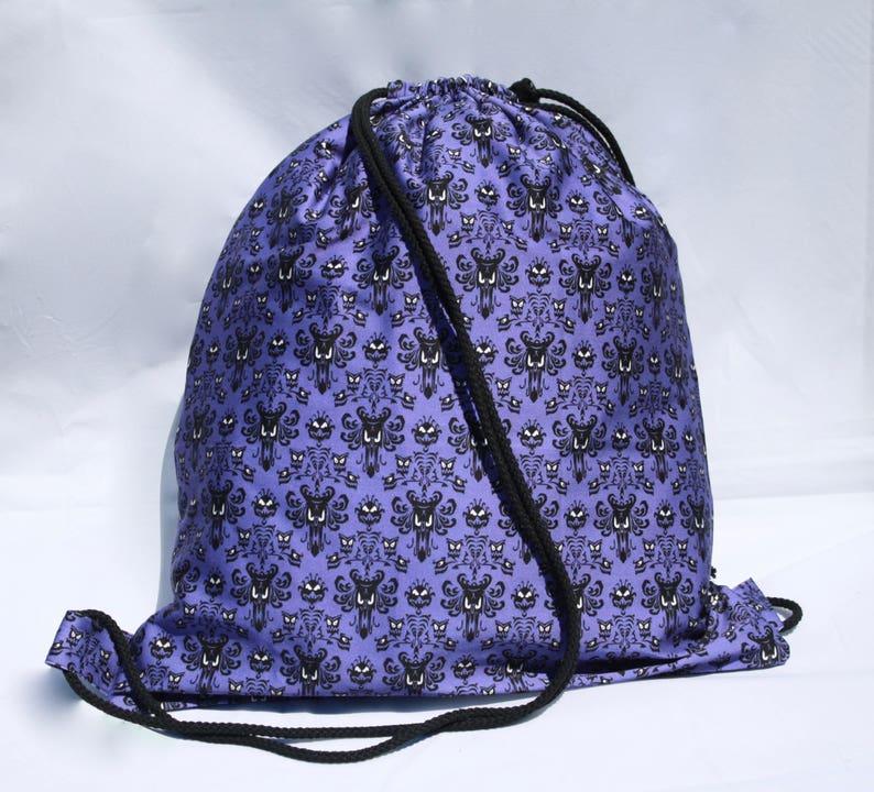 f59f6a4df2a Disney Haunted Mansion Drawstring backpack
