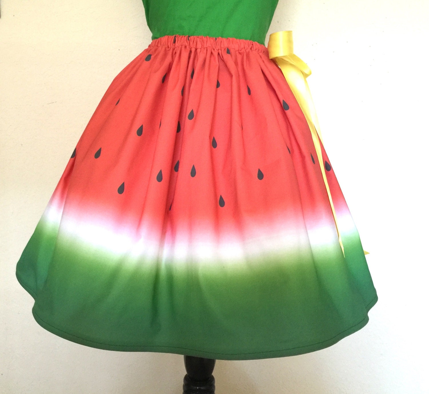 Watermelon Skirt for Gals e size fits all Plus Size