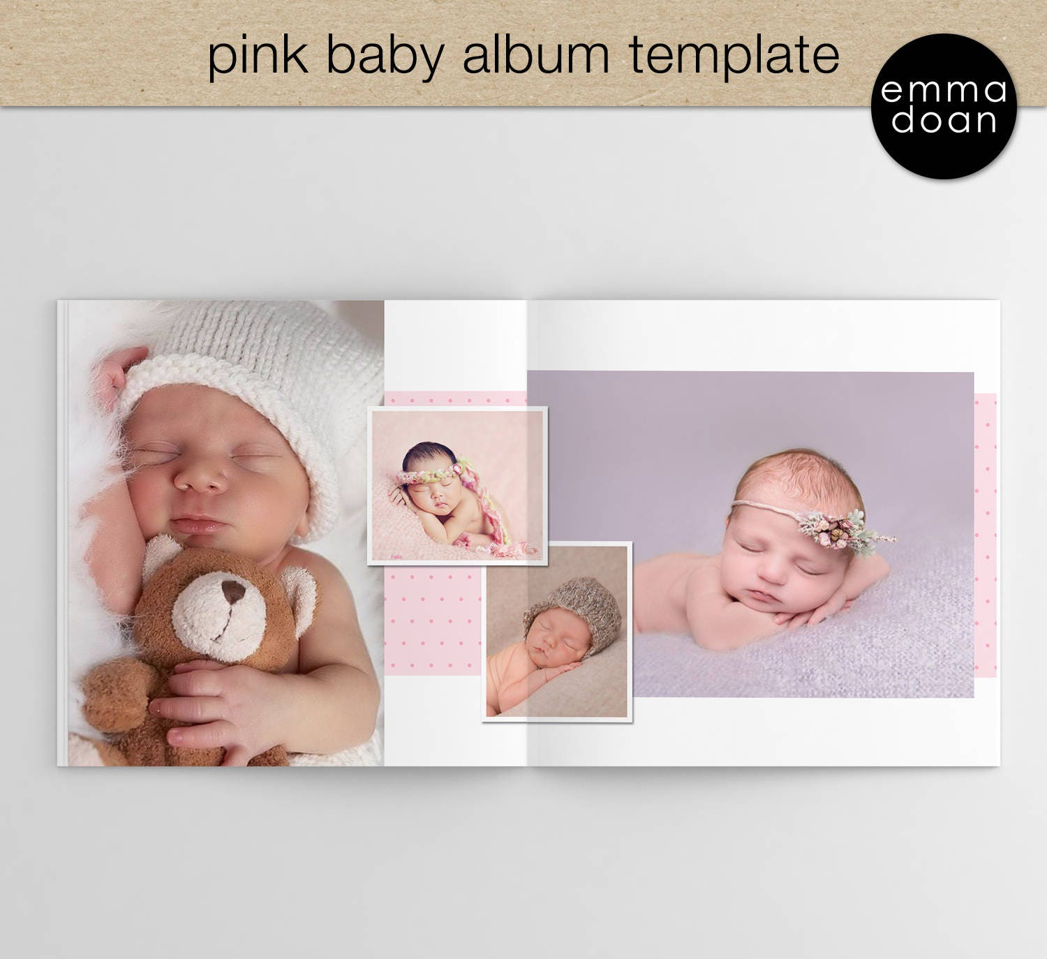 Baby Album Templates For Pographers | Funky Baby Album Templates For Photographers Embellishment