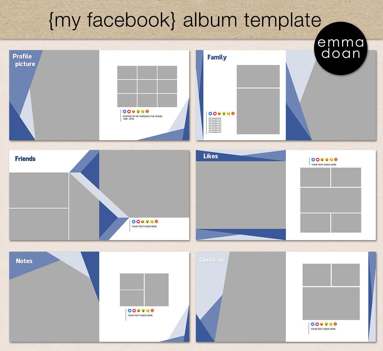 Photobook Album Template, 12x12\