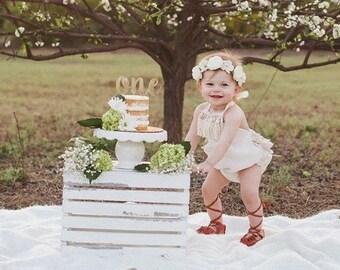 Girls Rompers Boho Romper Bohemian Clothing Baby Romper Girl Romper Bubble Boho Baby Cake Smash Romper Easter Fringe Rompers Mermaid Spring