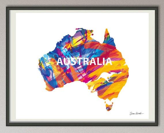 Free Map Of Australia To Print.Australia Map Print Australia Wall Art Australia Wall Hanging Australia Silhouette Australia Decor Australia Art Poster