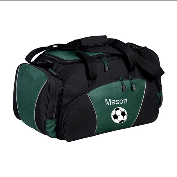 Duffel Bag   Personalized Soccer Ball Sports Duffle Bags   Sports Team Tote  Bag   Custom Bag with Name   Monogrammed Gift 2d0fbd5023db9