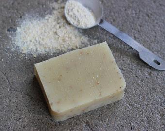 Organic Eucalyptus Lemon + Sweet Orange Soap // Exfoliating // Natural Soap // Vegan Soap // Holiday Gift // Christmas Gift // Gift Ideas