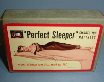 Vintage Playing Cards - Serta Perfect Sleeper - Mattress Advertising
