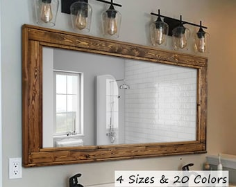Large Wall Mirrors Etsy