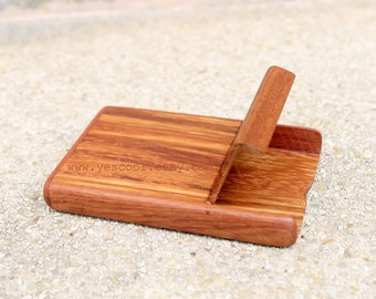 Wooden Cigarette Case Wood Business Card Holder Wood Case Credit Card Cigarette Box Holder and Case Wallet Red Brown