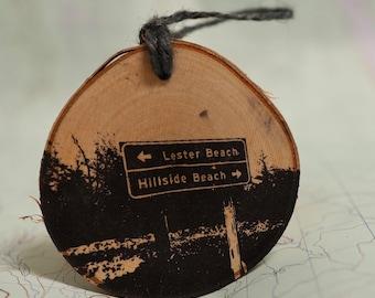 Lester Beach and Hillside Beach [Manitoba] Ornament
