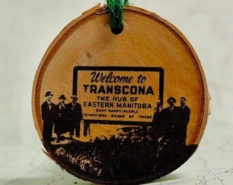 Transcona (Manitoba) Sign Ornament