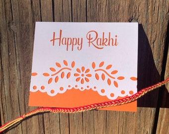 image regarding Rakhi Cards Printable named Rakhi card Etsy
