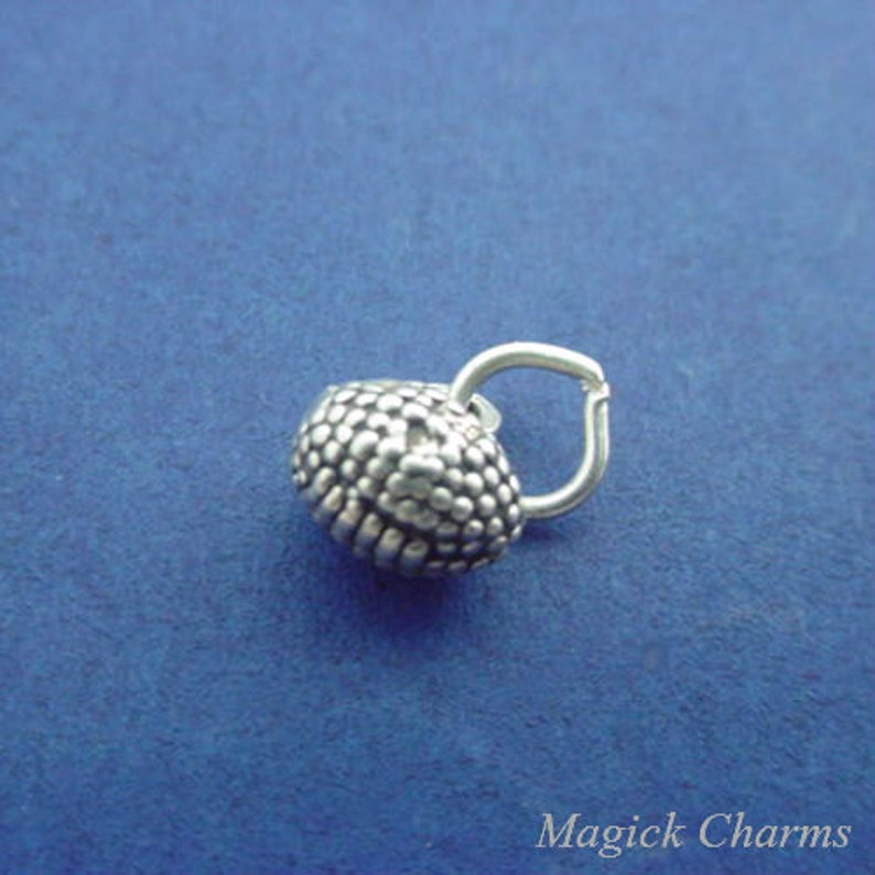 FOOTBALL Charm .925 Sterling Silver Foot Ball Player Miniature image 0
