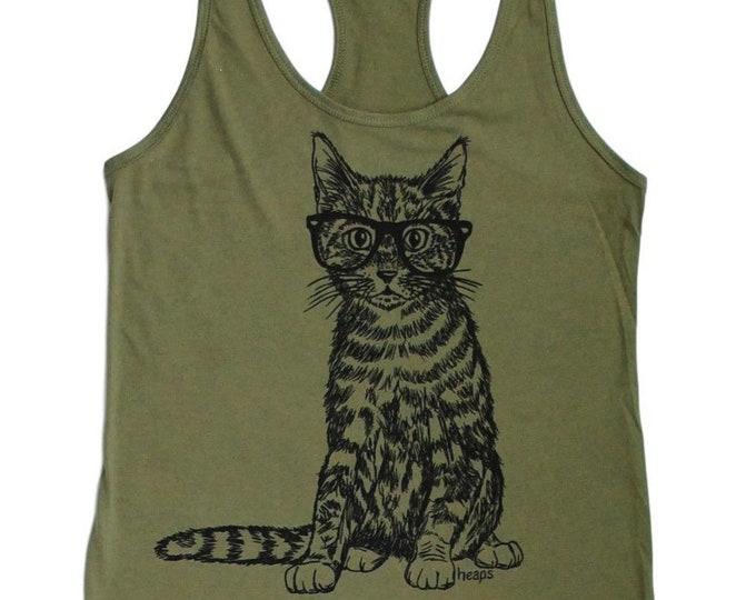 Workout Tank Top, Workout Clothes, Cat Workout Tank, Workout tank, Gym Tank, Workout Clothes, Cat, Cat tank top