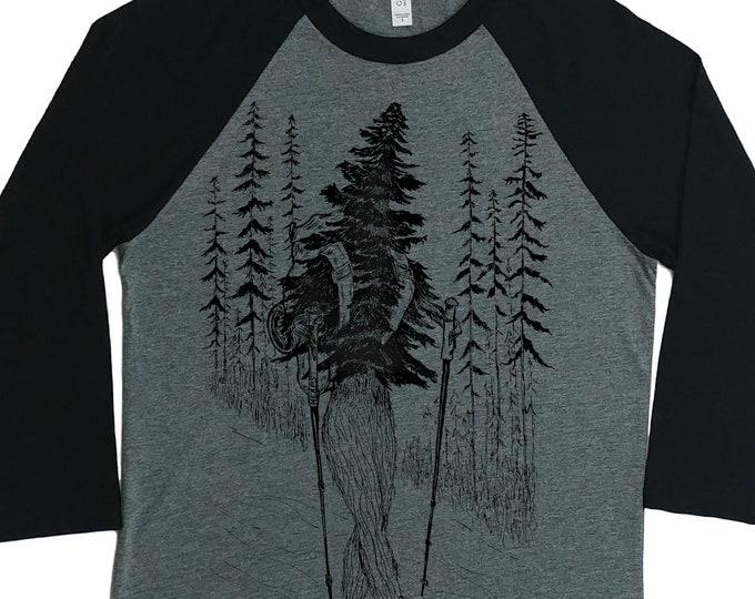 Baseball Shirt for Women - Unisex Fit - Baseball Tees - Hiking Shirt - Raglan Tee for Woman - Woman's Baseball Shirt - Tshirts with Graphics