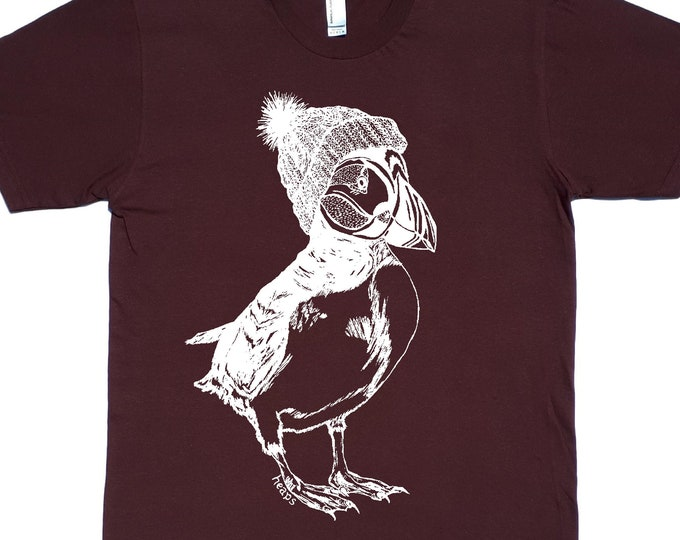 Graphic Tees for Men - Mens Clothing - Funny Shirt - Puffin Tshirt - Mens Gift - Dad Gift - Husband Tshirt - Graphic Tshirt - Guys Tshirt -