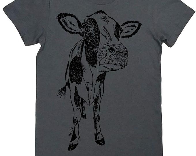 Womens TShirts - Womens Cow Tees - Cool TShirts - Western T Shirt - Farmer Tshirts - Gift for Women - Best Friend Gift - Country Womens Tee