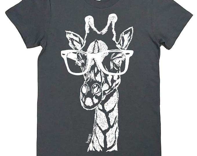 African Clothing for Women - Gift for Women - Graphic Tees for Women - Funny Shirts for Women - Giraffe Tshirt - Fashion Tshirt for Woman