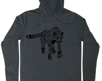 Hoodies for Men - Runner Hoodie - Running Hoodie - Cheetah Tee - Big Cat Lover Gift - Marathon Runner Gift - Cheetah Hoodie - Graphic Hoodie
