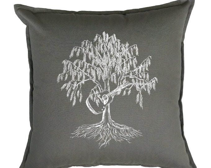 Throw Pillow Covers 20 x 20 - Accent Pillows - Toss Pillow Covers - Decorative Pillows - Living Room Pillows - Sofa Pillows - Willow Tree