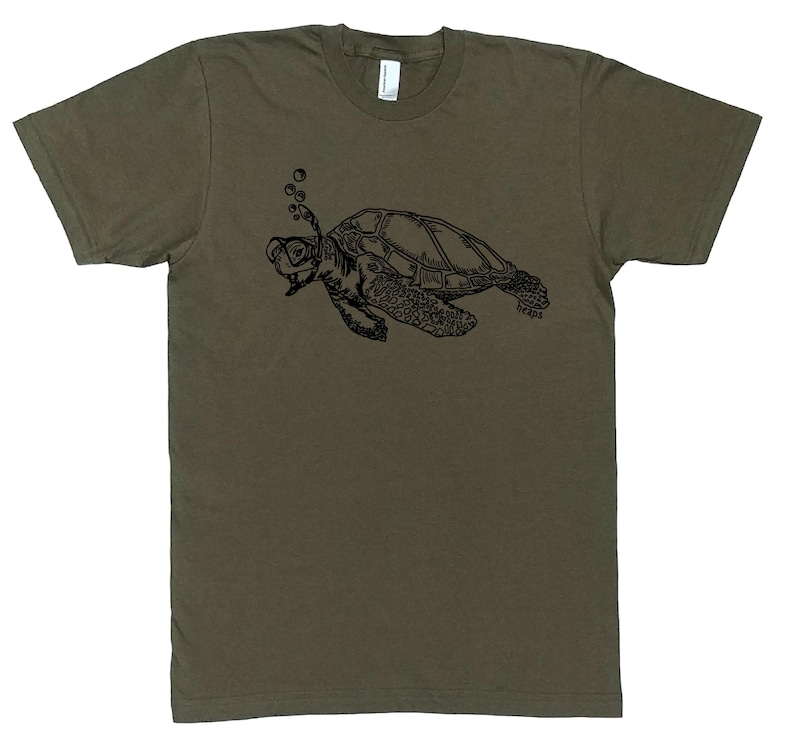 096f800e9bb994 Funny Mens T Shirt Sea Turtle Funny Tee Funny Animal Tee