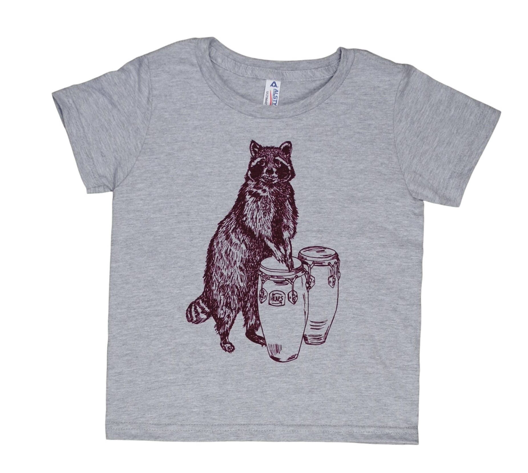 Funny Kids Tshirts - Raccoon Tshirt - Tshirts for Boys - Tshirts for ...