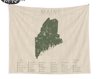 Maine state parks | Etsy