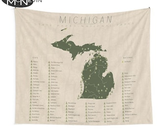 Michigan State Parks Etsy