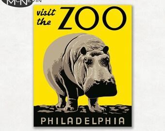 Philadelphia zoo | Etsy